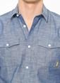 Jack & Jones Kısa Kollu Gömlek Mavi